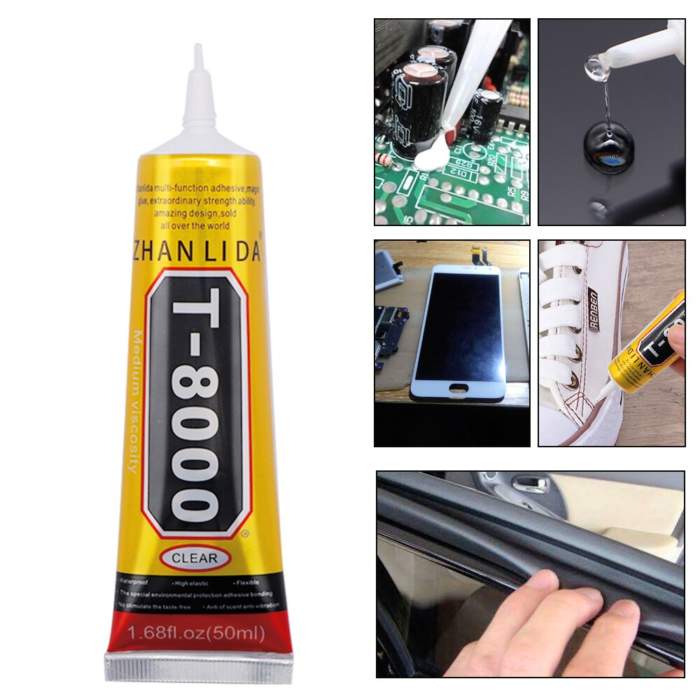 Adhesive Glue B7000 E8000 T7000 T8000 LCD Display Frame Glue15/50/110ml For Mobile Phone Touch Screen Crafts Jewelry DIY Glue 6
