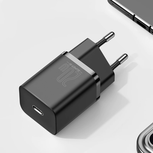 Super Si USB C Charger 20W Support Type C PD Fast Charging Portable Phone Charger For iPhone 12 Pro Max 11 Mini 8 Plus
