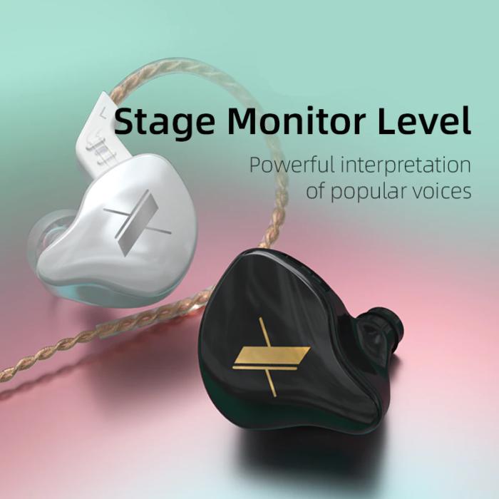 EDX 1DD HIFI In Ear Earphone Monitor Headphones In Ear Earbuds Sport Noise Reduction Headset 6
